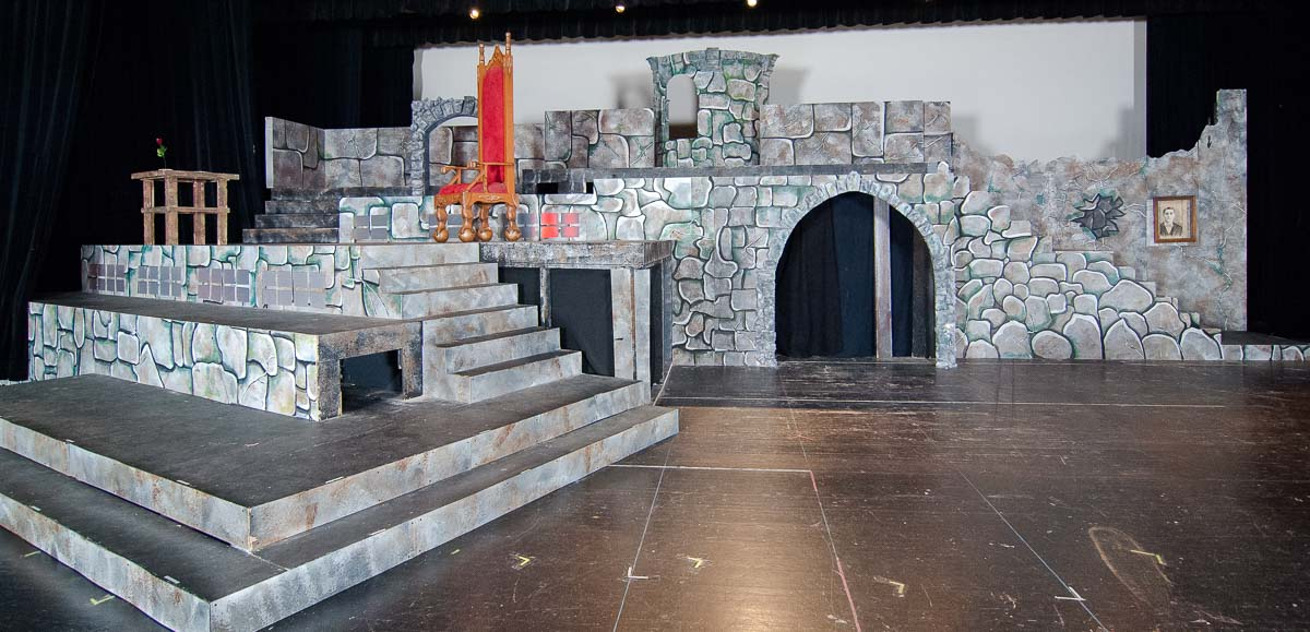 Addison Cole emerging scenic designer castle beauty and the beast theatre theater set